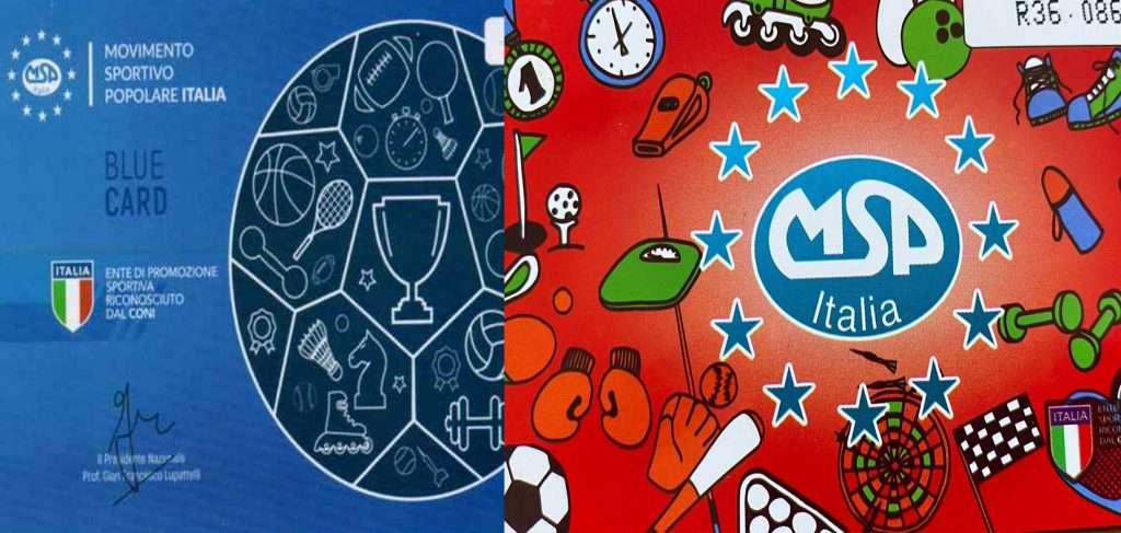 Blue Card Red Card Msp Cosenza Affiliazione sportiva msp italia cosenza Affiliazione asd sportiva MSP COSENZA CALABRIA