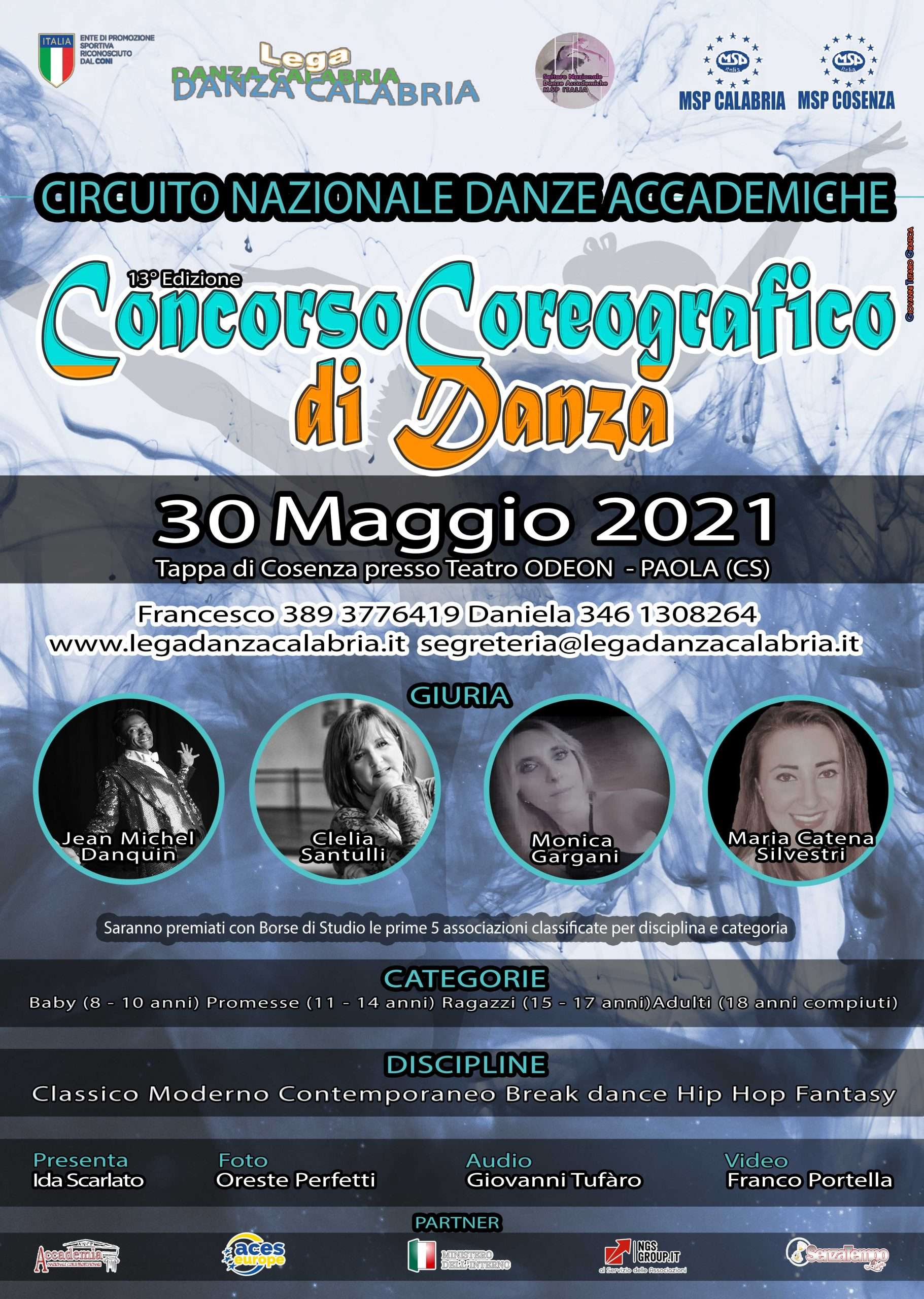 Concorso Coreografico Nazionale di Danza Msp Italia Calabria
