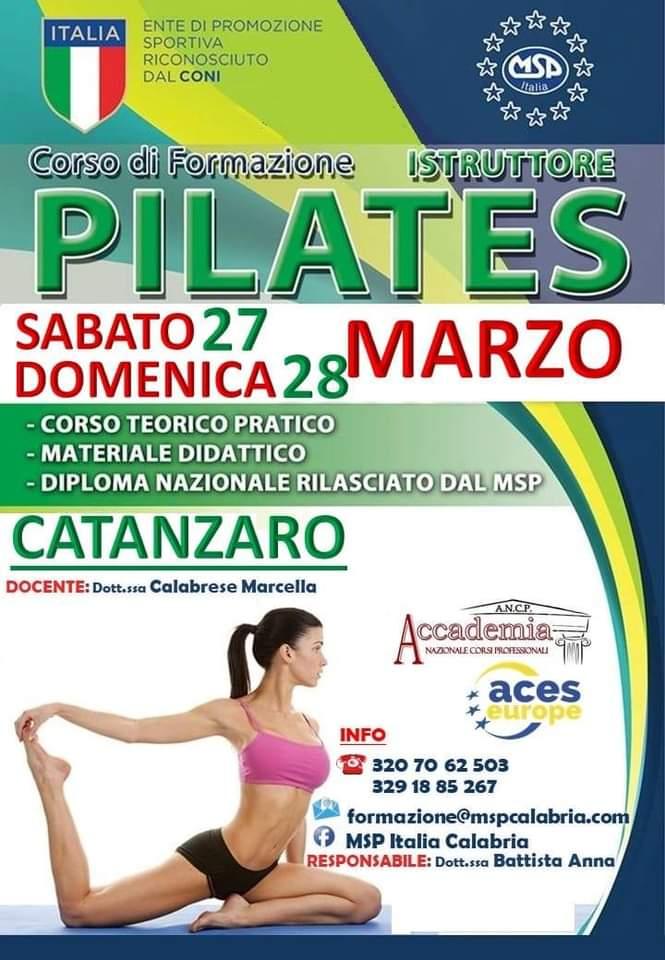 Corso di PIlates Catanzaro