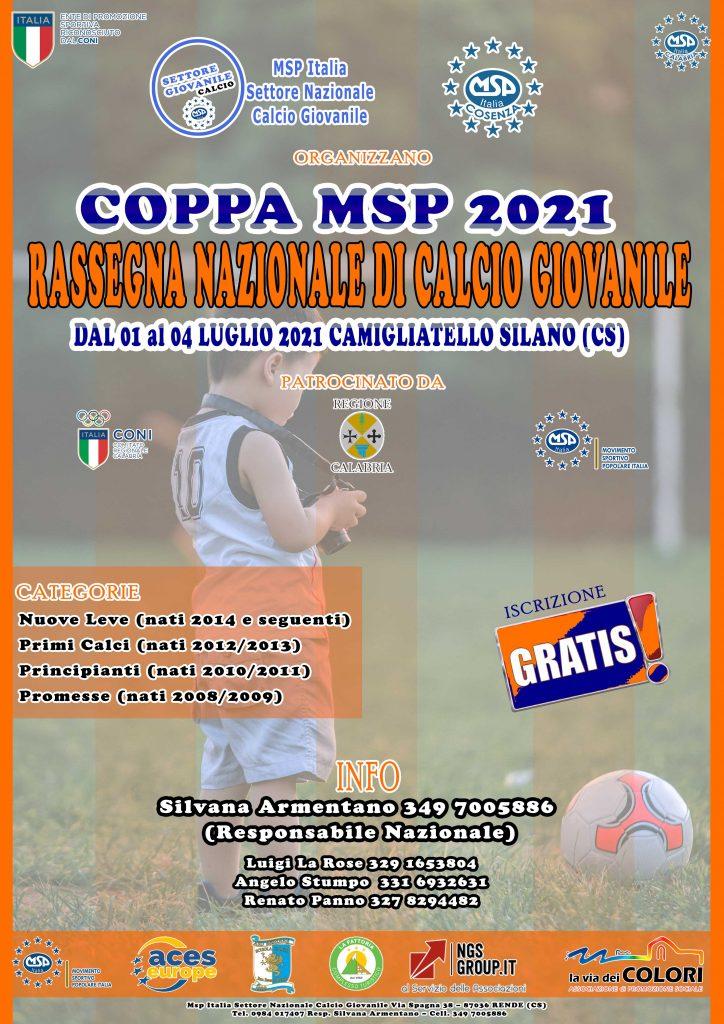 Torneo di Calcio Giovanile MSP ITALIA settore calcio