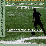 Seminario Nutrizione Sportiva
