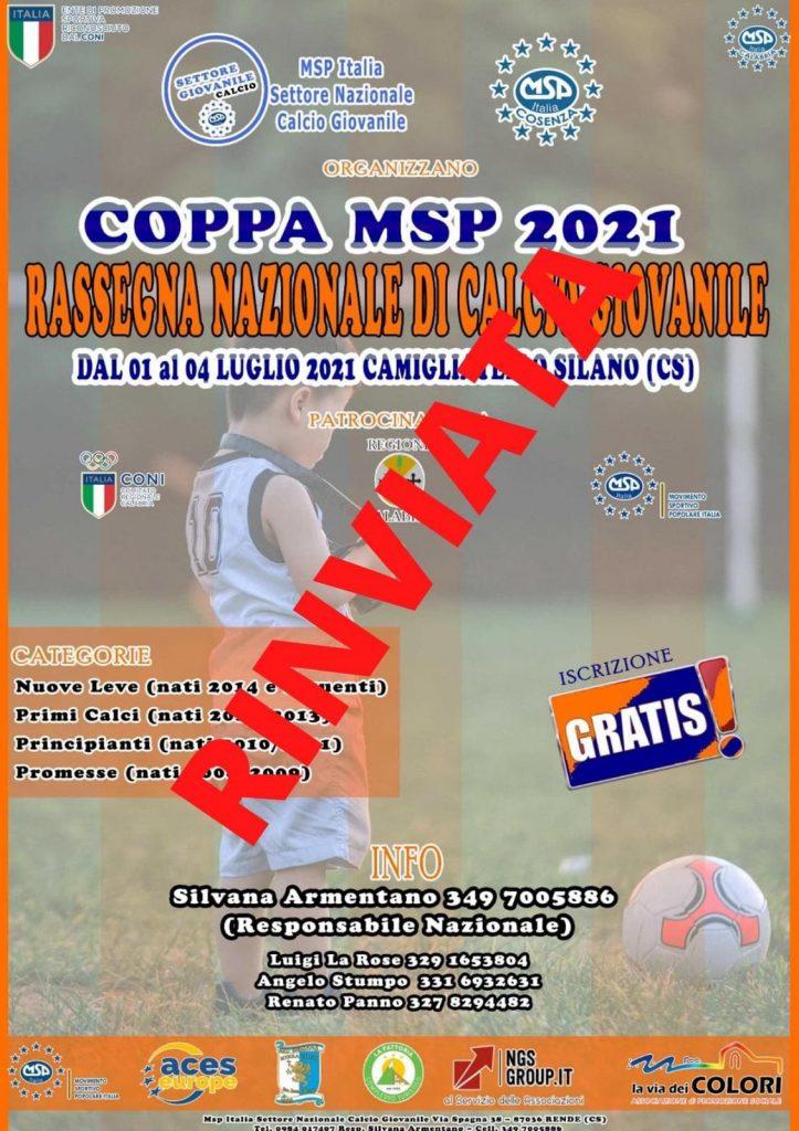Torneo di Calcio Giovanile MSP ITALIA settore calcio Msp Cosenza Msp calabria Msp CALCIO